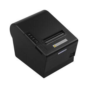 GOOJPRT JP-80DC Desktop Themal Printer 80mm Thermal Print Paper Automatic X3J9