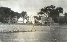 Lincolnville Beach ME Real Photo Postcard #2
