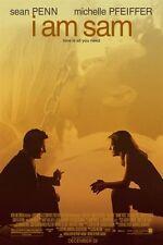 I AM SAM - 27x40 D/S Original Movie Poster One Sheet Sean Penn Dakota Fanning