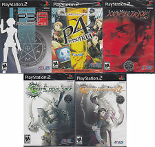 Shin Megami Tensei PS2 Ultimate Collection 5 New Games