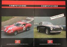 2 X Magazine Competizione Ferrari Model Club 447 448 2014 Not Brochure