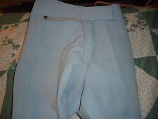 New Junior Woman's size 6 R Olympian Light Blue Cb Sports Ski Pants