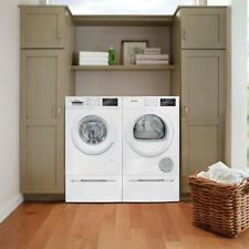 "Bosch 300 Series 24"" Front Load Washer &Condensation Dryer Wat28400Uc/Wtg86400Uc"