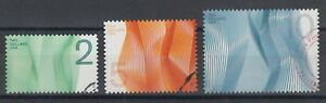 US Sc 4718-4720 used. 2012 Waves of Color, $2, $5, $10 values, fresh, VF
