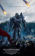 Transformers: The Last Knight Movie Poster (24x36) - Megatron, Optimus Prime v5