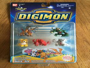 Digimon Digital Monsters Collectible Set III Centarumon Birdramon NIP New Sealed