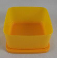 Tupperware So Fresh Cubix Dose Behälter Box mit Deckel 650 ml Orange Neu OVP