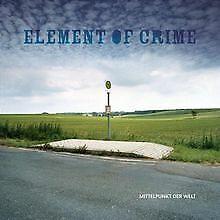 Mittelpunkt der Welt von Element of Crime | CD | Zustand gut