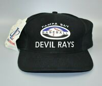 Tampa Bay Devil Rays Baseball Logo Athletic Vintage Snapback Cap Hat - NWT