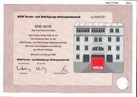 WKM Terrain- und Beteiligungs-Aktiengesellschaft 1996 5 DM