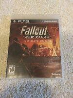 Fallout: New Vegas -- Ultimate Edition (Sony PlayStation 3, 2012) FREE SHIPPING