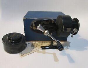 Vintage Mitchell Half Bail Spinning Reel Pre-300 w/ Box + Spare Spool