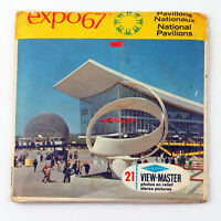 Vintage View-Master Reels Set Packet A073 EXPO 67 Montreal Canada (1967)