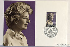 LIECHTENSTEIN  N°41 PRINCESSE GINA   Carte Postale Maximum  LIE30