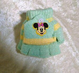 Children Toddlers MINNIE Mittens Gloves Baby Fall Winter Cold Weather Boy/Girls