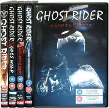 GHOST RIDER - THE COMPLETE 5 DVD SET - ROAD/MX/FMX BIKE DVD