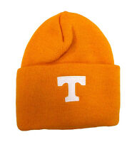 Tennessee Volunteers Acrylic Knit Cuff Beanie Winter Hat Orange NCAA