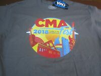 Country Music Association Festival CMA Artist Line Up  T-Shirt Large  2018 M9