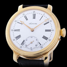 Le Coultre & C0 Mens Watch 15 Jewels Mechanical Movement Swiss Watch Large Watch