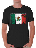 Mexico Flag Shirts for Men Mexico T Shirt Mexican Gifts for Him
