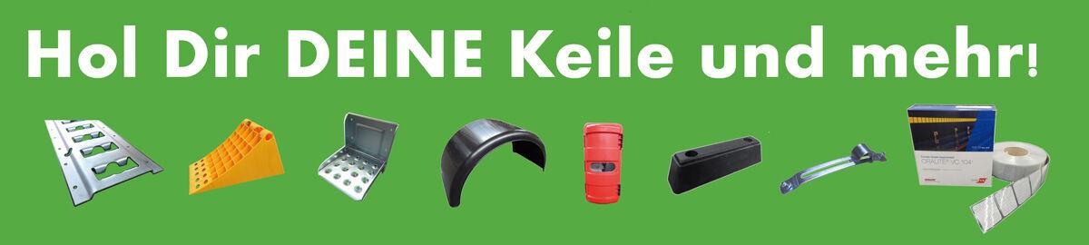 LKW Anh/änger NFZ Trecker Kotfl/ügel Viertelschal 650 x 1000 mm