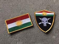 Toysoldier Kurdish Delta Special Force Patch Set lbt multicam crye