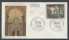 FRANCE FDC - 1588 2 EGLISE DE SAINT SAVIN - 28 Juin 1969 - LUXE
