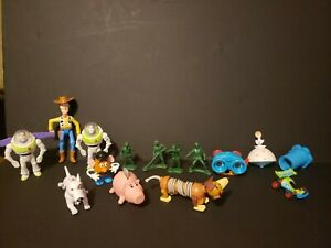 Toy Story!  – Vintage McDonalds and Burger King meal toys! – Lot of 14