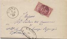 P8911   Annullo numerale a sbarre, Firenze, Signa, 1882