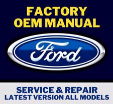 2012-2013 Ford Complete Factory Service Manual - Repair Manual - OEM