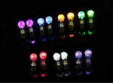 leuchtende LED Ohrstecker ZIrkonia Ohrringe Ohrschmuck   in 8 Farben