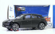 """Bburago 30010 Porsche MACAN """"Nero""""  METAL Scala 1:43"""