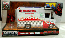 Deadpool Taco Truck With Deadpool Figure New