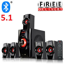 Bluetooth Speaker System 5.1 Home Audio Stereo Bass Sound Gaming TV PC Computer