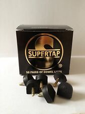 50 PAAR Supertap Stiftabsätze Pfennigabsätze Stiftflecken Stiftflecke SUPERTAP