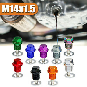 M14*1.5 Car Engine Magnetic Oil Drain Plug Screw Nut Bolt Sump Nut  Universal