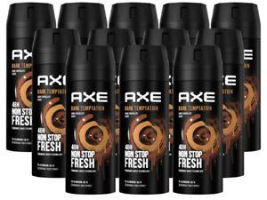 Axe Dark Temptation Deo Deospray Deodorant Bodyspray Spray Herren Men 12x 150ml