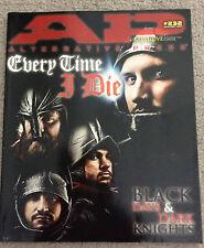 ALTERNATIVE PRESS Magazine Every Time I Die Cover Nov 2007 #232 All Time Low