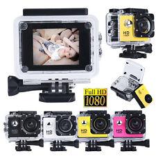 Portable 1080P Full HD DV Sports Recorder Car Waterproof Action Camera Camcorder