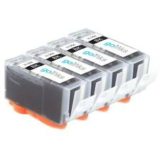 4 Black Ink Cartridges for HP Photosmart 5510 B010a B110d CN245b B209b C309h