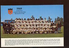 1969 NFL Football New Orlean Saints Team 6 X 9 Photo
