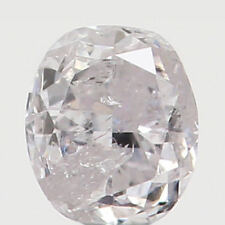 Natural Loose Diamond Oval I3 Clarity Light Pink Color 2.63 MM 0.086 Ct L4352