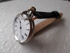 Andre Monnin & Fils wrist watch solid silver just full serviced perfect working