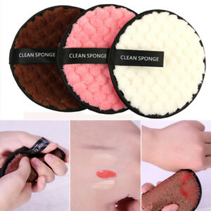 New Fashion Makeup Remover towel Face Cleansing Cloth Pads Plush puff