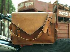 Backpack Laptop crossbody bag Vintage brownish Genuine Leather Bag Rucksack