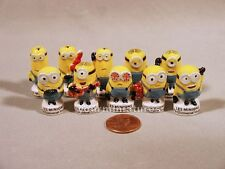 Universal Studios Despicable Me Minions 1 inch Porcelain Miniatures French Feves