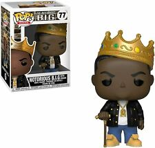 Funko Pop Rocks: Music Notorious B.I.G. with Crown 77 Figure w/ Protector
