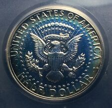 1964 Kennedy Half Dollar Silver Proof 50c High Grade Accented Hair Variety Toned