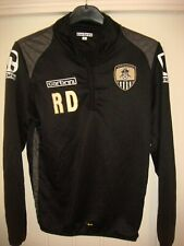 NOTTS COUNTY FC SQUAD ISSUE TRACKSUIT TOP not FOOTBALL SHIRT - SMALL ADULT -G94
