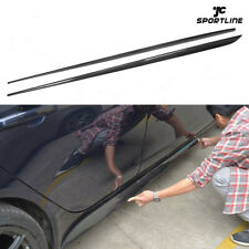 For Jaguar XE 2015-2016 Side Skirts Spoiler BodyKit Carbon Fiber Refit 2PCS